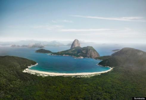 Como seria o Rio de Janeiro sem construções - caminhadas ecológicas rj